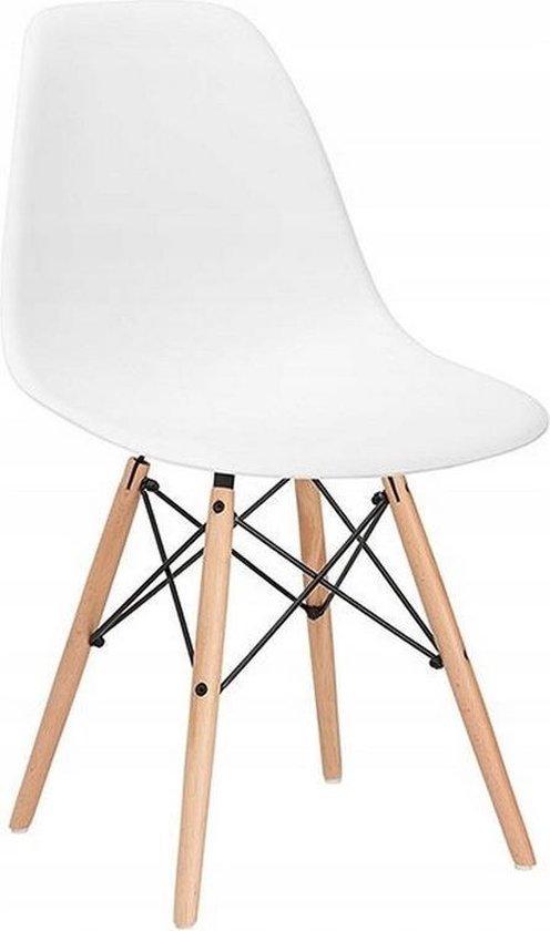 Eetkamerstoelen - Kuip stoel - Wit