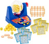 Grafix Bingo spel   2 tot 15 spelers   inclusief 35 bingokaarten   inclusief 100 fishes   spelletjesavond   Feestavond