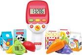 Fisher-Price Supermarkt Scanner - Spelend leren, Interactief speelgoed, Leerspeelgoed – Speelgoed voor kinderen vanaf 1 jaar