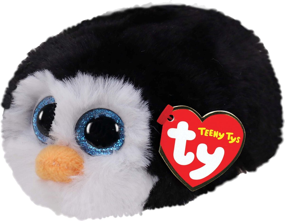 Ty Teeny Ty's Waddles  Penguin 10cm