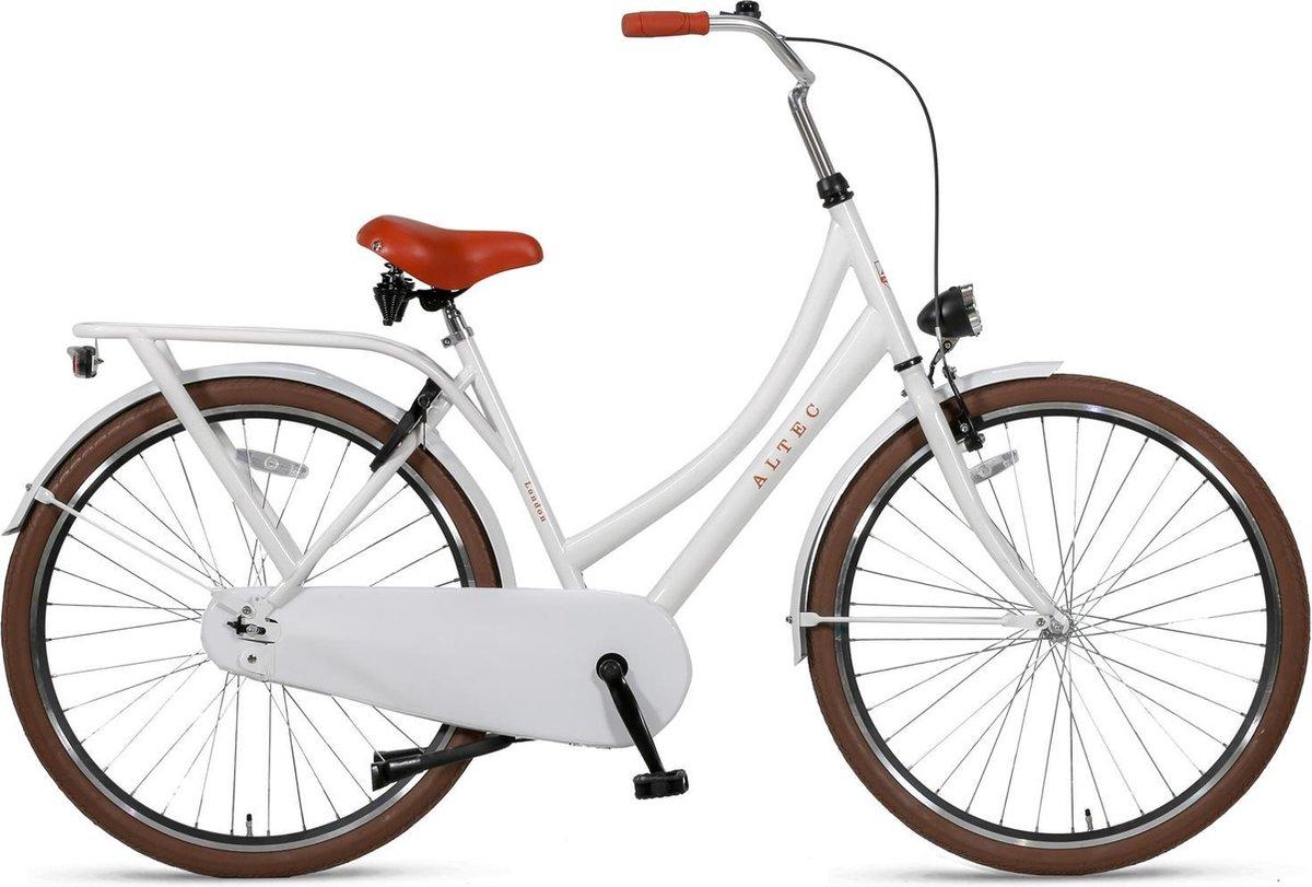 Altec London Omafiets 28 inch Sparkle White online kopen