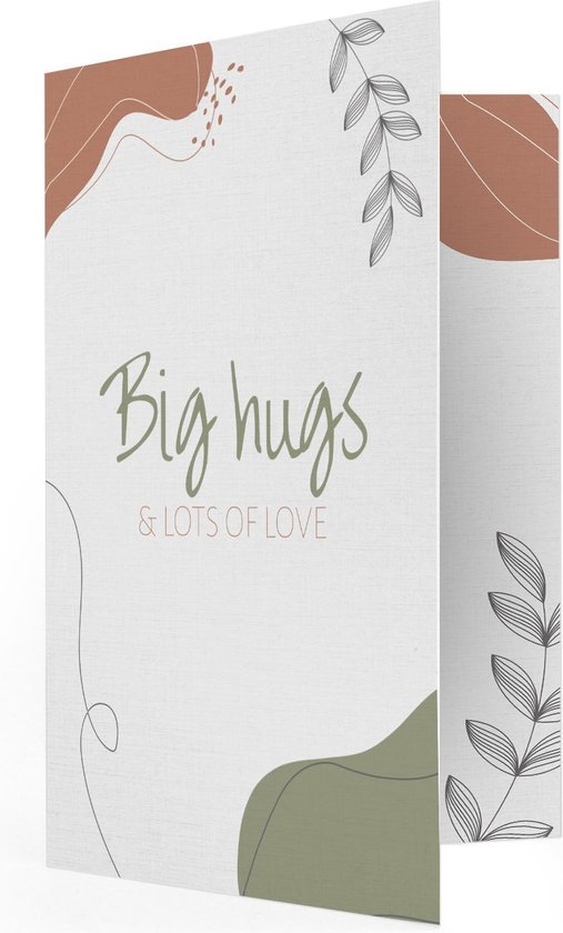 Verjaardag Hugs & Love Muziekkaart - Locomix