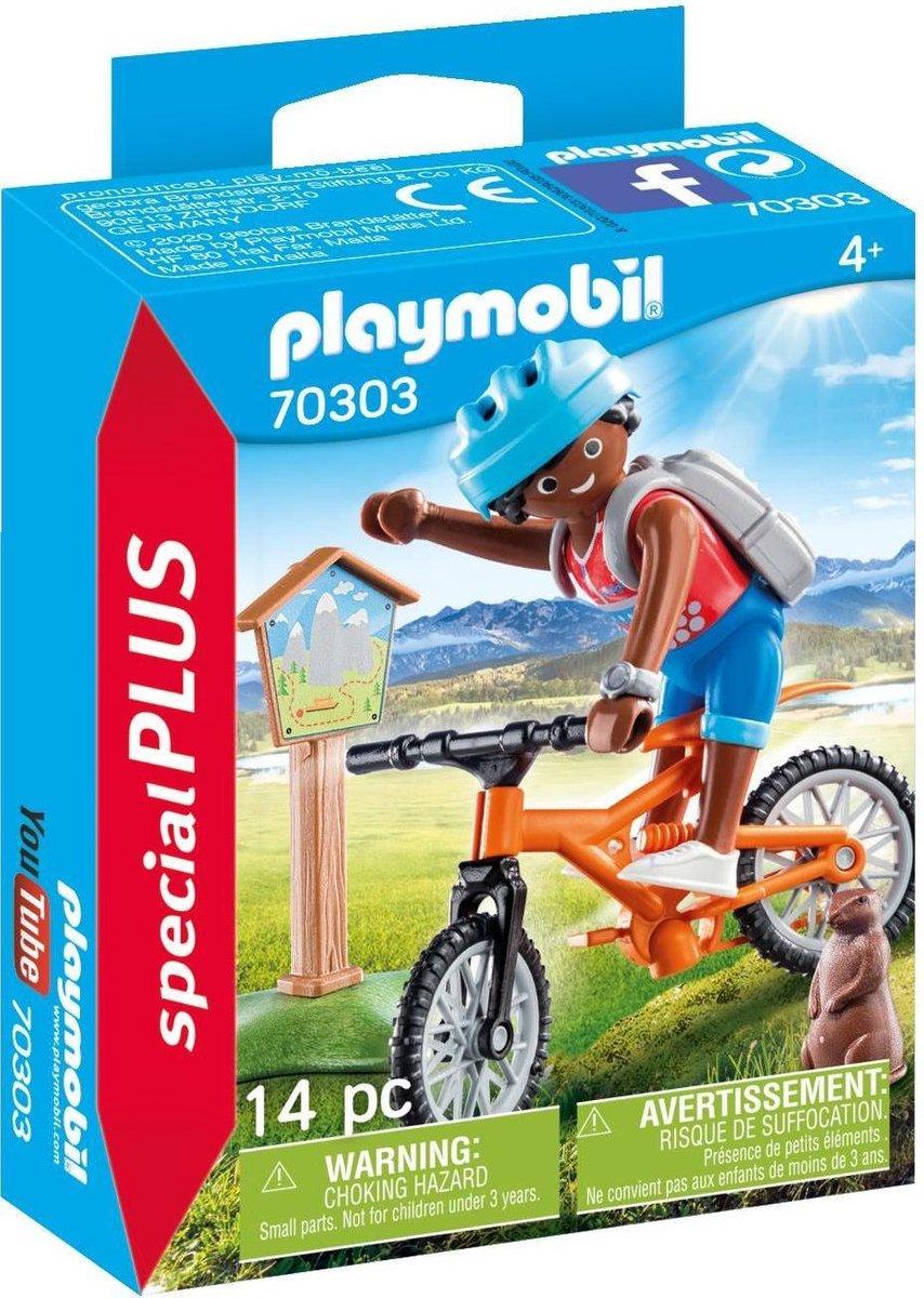 PLAYMOBIL Special Plus Mountainbiker - 70303