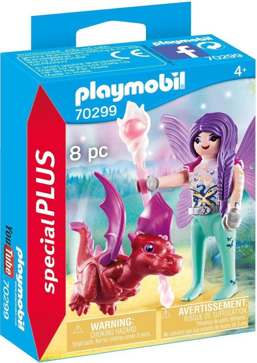PLAYMOBIL Special Plus Fee met drakenbaby - 70299