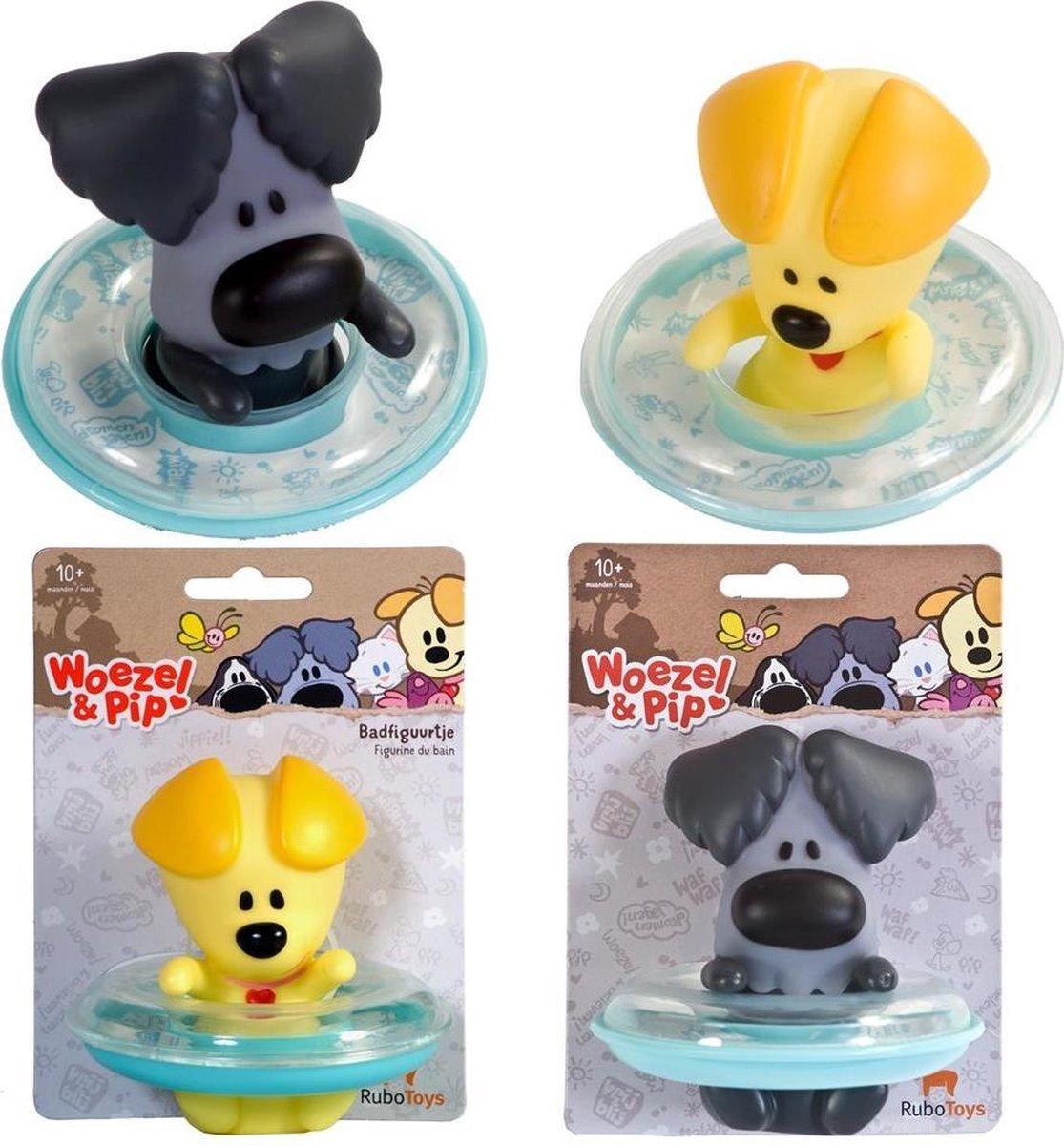 Rubo Toys Woezel en Pip Badfiguur zwemband 2 ass