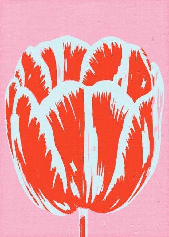 Theedoek, Tulp Pop lijn Roze