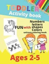 Toddler Activity Book
