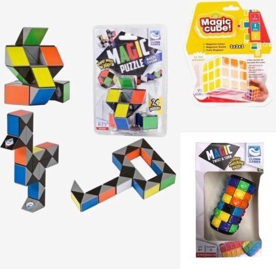 Afbeelding van het spel Vakantie Magic - Cube, Twist & Turn en Puzzle