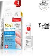 Eveline Cosmetics 8 in1 Total Action Intensieve Nagel Conditioner & Versterker 12ml - Nagelbehandeling