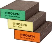 Bosch - Schuursponzen set - Flat and Edge