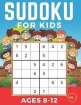 Sudoku For Kids Ages 8-12: Sudoku 6x6 Volume 3, Level