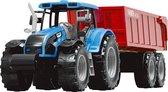 JollyVroom - tractor - bakwagen - voertuig - vervoeren - boer - landbouw - boerderij - rijden