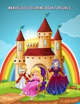Marvelous Coloring Book for Girls
