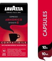 Lavazza Espresso Armonico 8 Capsules- 10 x 10 stuks