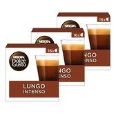 NESCAFÉ® Dolce Gusto® Lungo Intenso - 3 doosjes à 16 capsules geschikt voor 48 kopjes