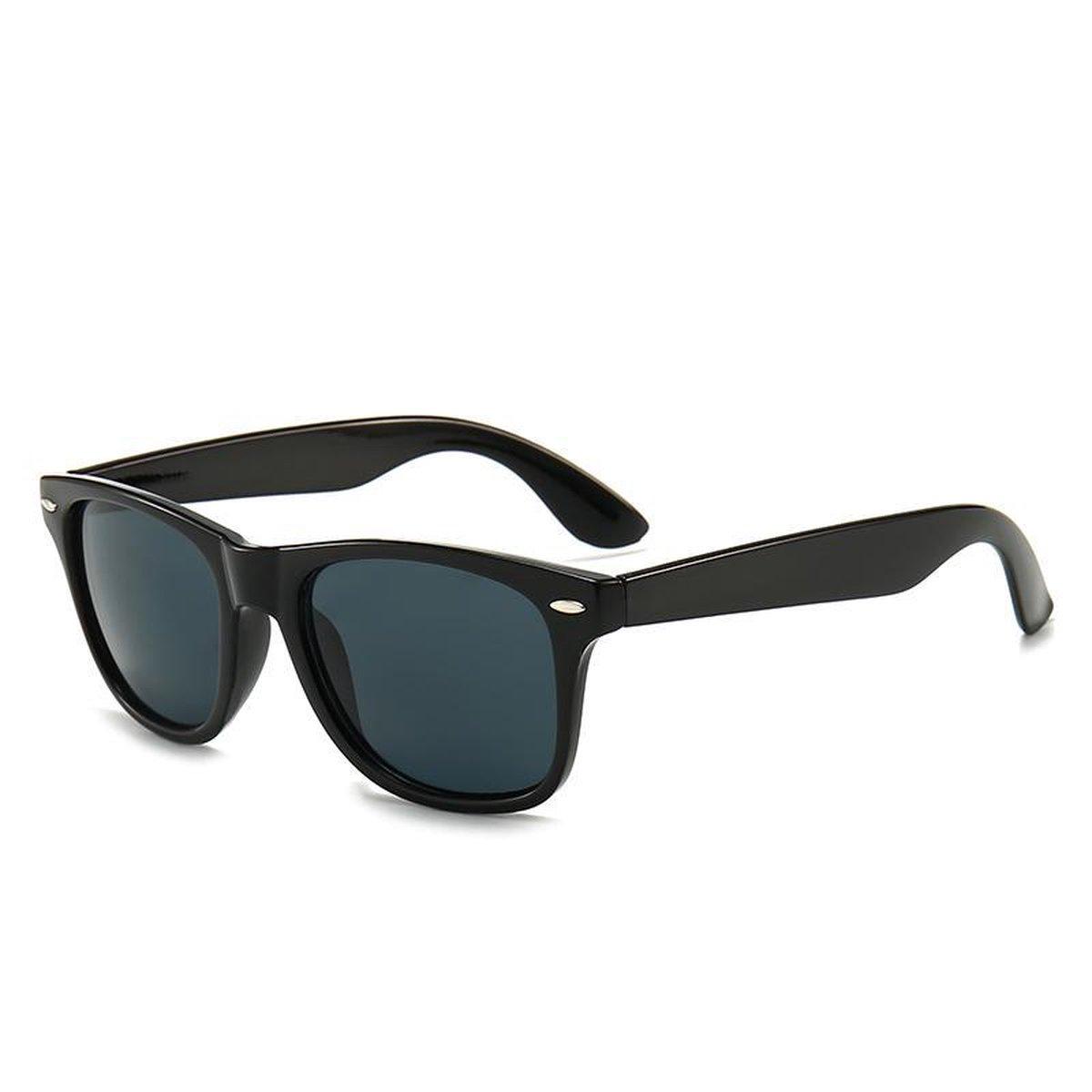 Wayfarer Zonnebril Zwart op De Prijzenvolger