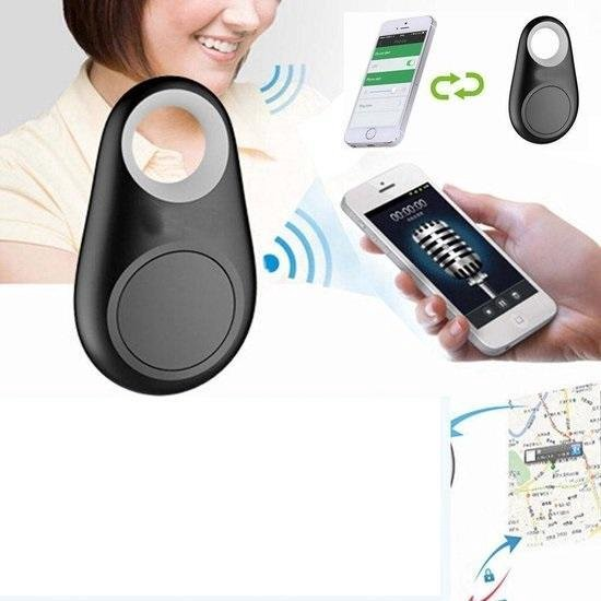 Key Finder GPS Tracker - sleutels - gps - huisdier - volgen - traceren - bluetooth - tag - keyfinder - bagage - koffer - vakantie - feest - kwijt - selfie foto - afstandsbediening - voice recorder