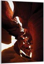 Plexiglas –Woestijngrot– 40x60cm Foto op Glas (Wanddecoratie op Plexiglas)