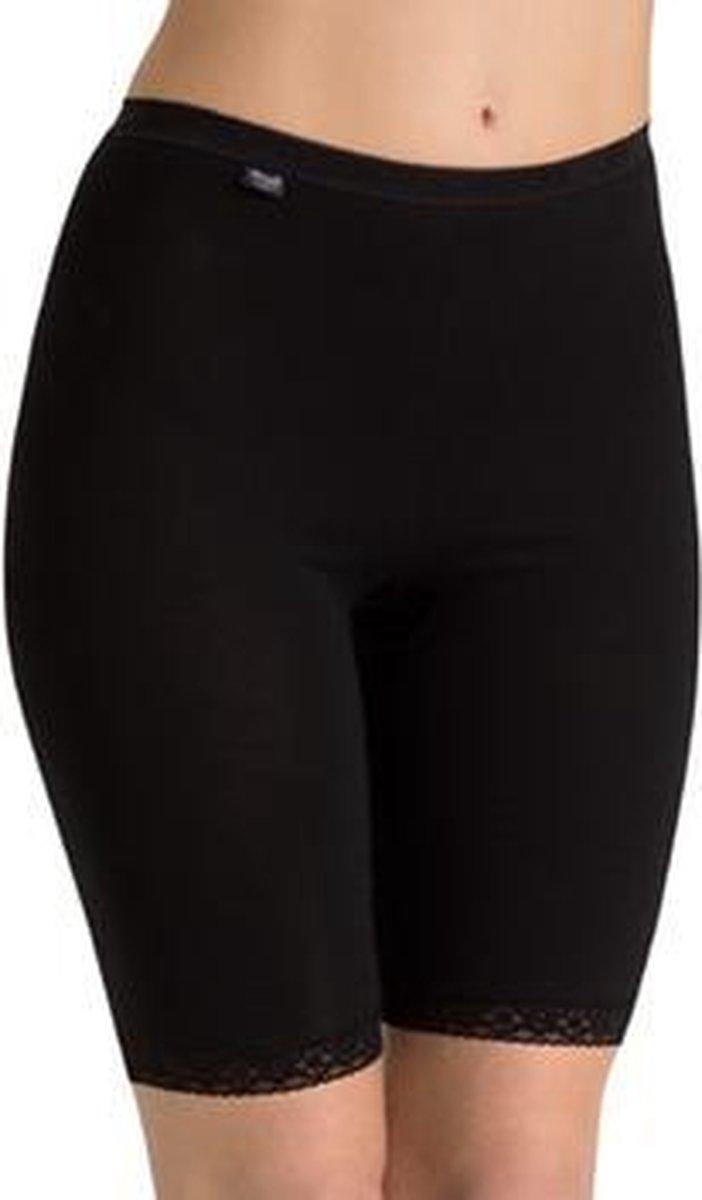 sloggi Basic+ Dames Short lange pijp - Zwart - Maat 46