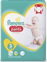 Pampers Premium Protection Pants Luierbroekjes - Maat 3 (6-11 kg) - 35 stuks - Maandbox