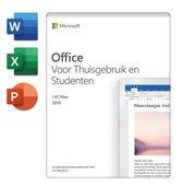 Microsoft Home & Student 2019 - Nederlands - 1 jaar abonnement