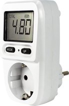 Ecosavers Energiemeter Mini NL Plug NIET geschikt voor Belgie | compacte electriciteitsmeter energie verbruiksmeter | energieverbruiksmeter | GS-keurmerk