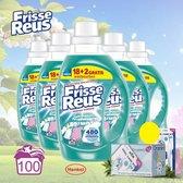 Frisse Reus Vloeibaar Wasmiddel Witte Was - 5 Pack 20 Wasbeurten - Oramint Oral Care Kit