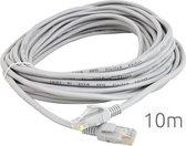 CAT5E RJ45 UTP LAN Ethernet Kabel - FTP Netwerk Internet Extender Connector - DSL STP Wifi ISDN Verlengkabel - Male To Male - Netwerkkabel - 10 Meter