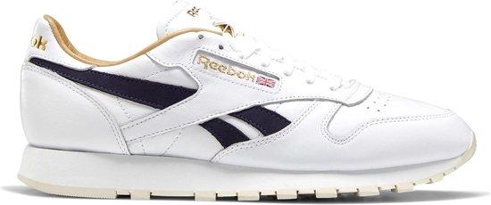 Reebok Sneakers - Maat 45 - Mannen - wit/ donker blauw/ goud