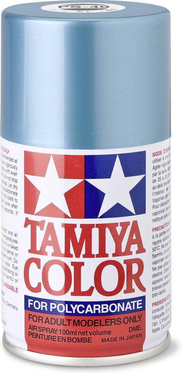 TAMIYA PS-49 Hemel-blauw/aluminium (spuitbus 100ml)