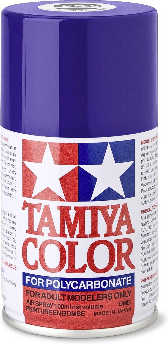 TAMIYA PS-35 Violet blauw (spuitbus 100ml)