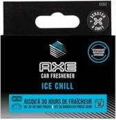 Axe Navulling Luchtverfrisser Alu Houder Ice Chill Zwart 2 Stuks