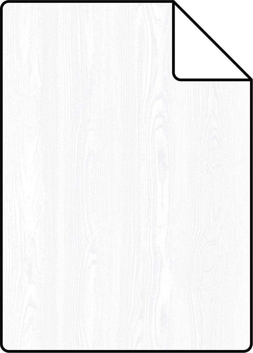 ESTAhome A4 proefstaal van behang vintage sloophout planken wit - 138927 - 21 x 26 cm