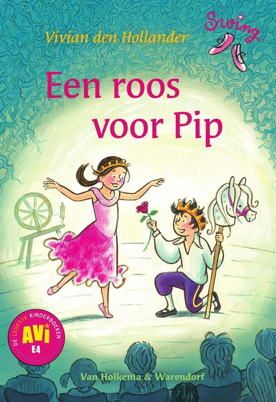 Boek cover Swing - Een roos voor Pip van Vivian den Hollander (Onbekend)