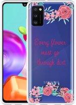 Samsung Galaxy A41 Hoesje Every Flower