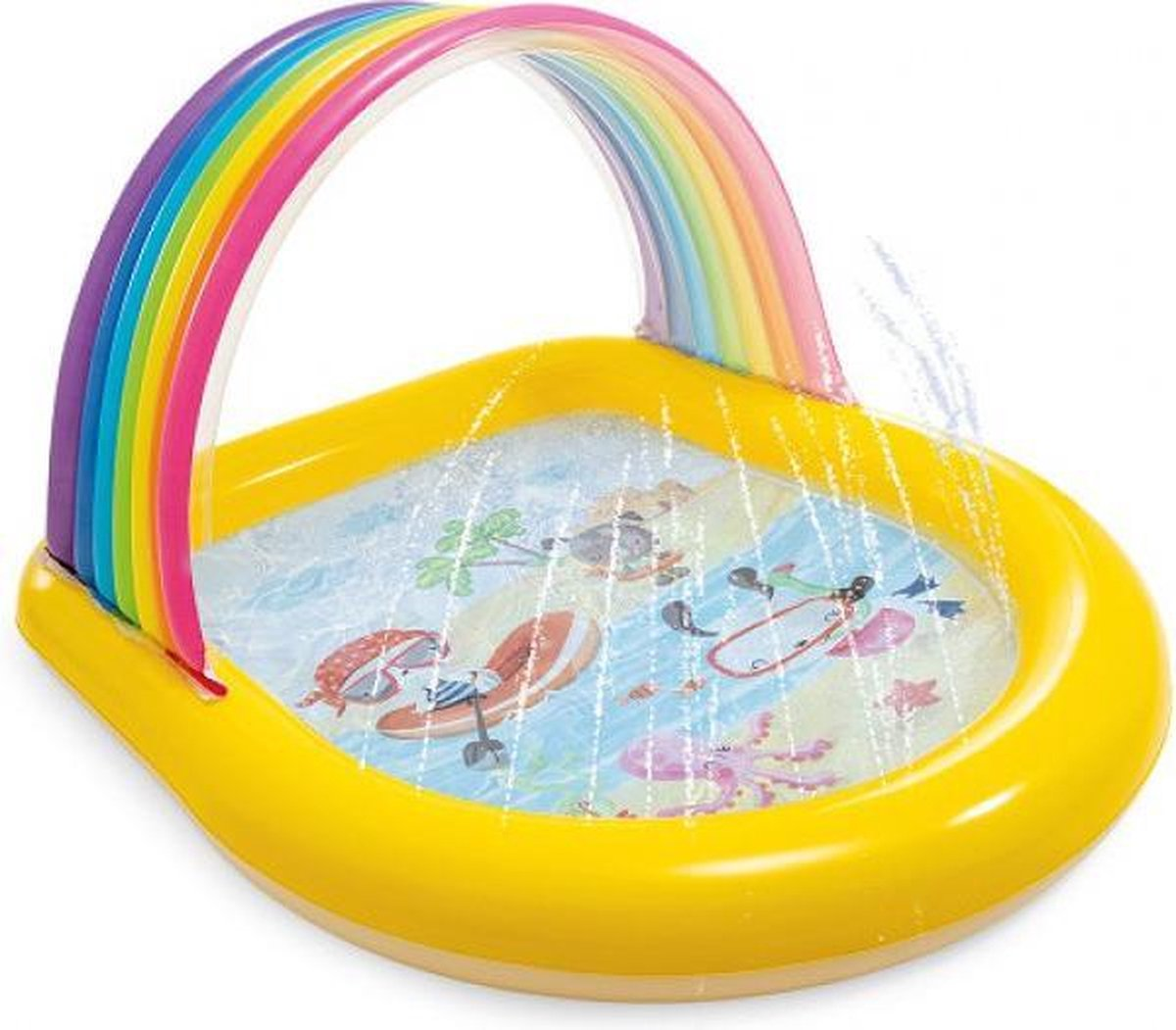 Baby Zwembad met Sproeier 147x130x86cm