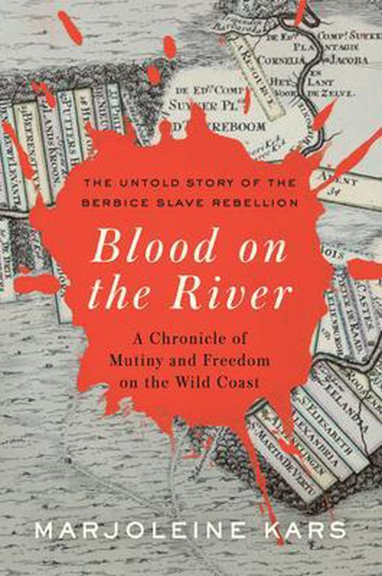 Boek cover Blood on the River van Marjoleine Kars (Hardcover)