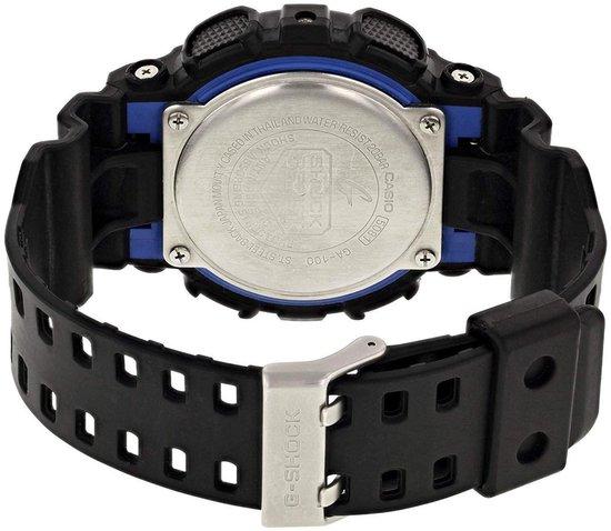 Casio G-Shock Heren Horloge GA-100-1A2ER - 50 mm