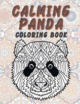 Calming Panda - Coloring Book