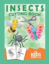 Insects Cutting Book For Kids Ages 4-8