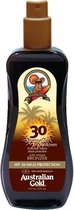 Australian Gold SPF 30 Spray Gel Zonnebrand met Bronzer - 237 ml