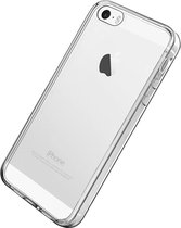 Apple iPhone 5, 5s & SE Hoesje Transparant - Siliconen Back Cover