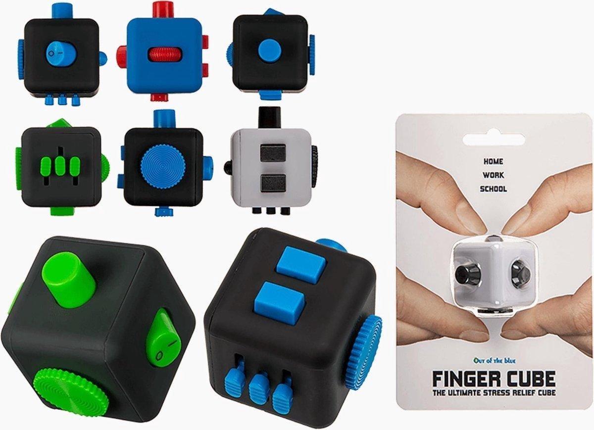 Fidget friemelkubus stressbestendig - 2 stuks - Voordeelbundel