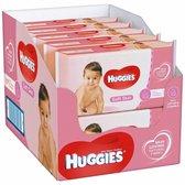 Huggies Babydoekjes Soft Skin, 56 doekjes x 10 verpakkingen