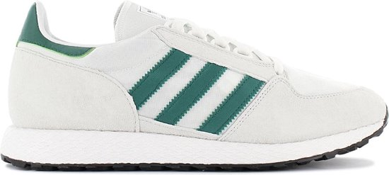 adidas Originals Forest Grove Heren Sneakers Sportschoenen Schoenen  Wit-Groen B41546 - Maat EU 46 2/3 UK 11.5