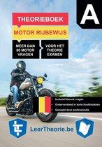 Boek cover MotorTheorieboek 2021 - België – Vlaams Motor Theorie Leren – Theorieboek Rijbewijs A voor Motor van Leertheorie