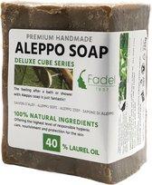 Aleppo Zeep - 40% Laurier- Natuurlijke Groene Zeep - 225g