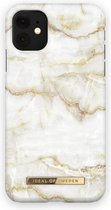 iDeal of Sweden Fashion Case iPhone 11/XR Golden Pearl Marble