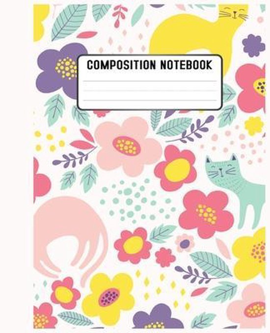 Composition Notebook: love a cute and artistic cover design book for notebook