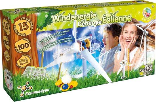Science4You Windmolen - Experimenteerset